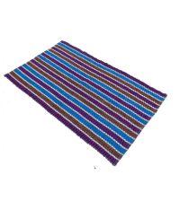 Fab Home Velvet Stripes Blue Carpet - Buy Fab Home Velvet ...