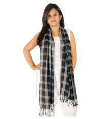 Ayanna Black Viscose Shawls Price in India - Buy Ayanna ...