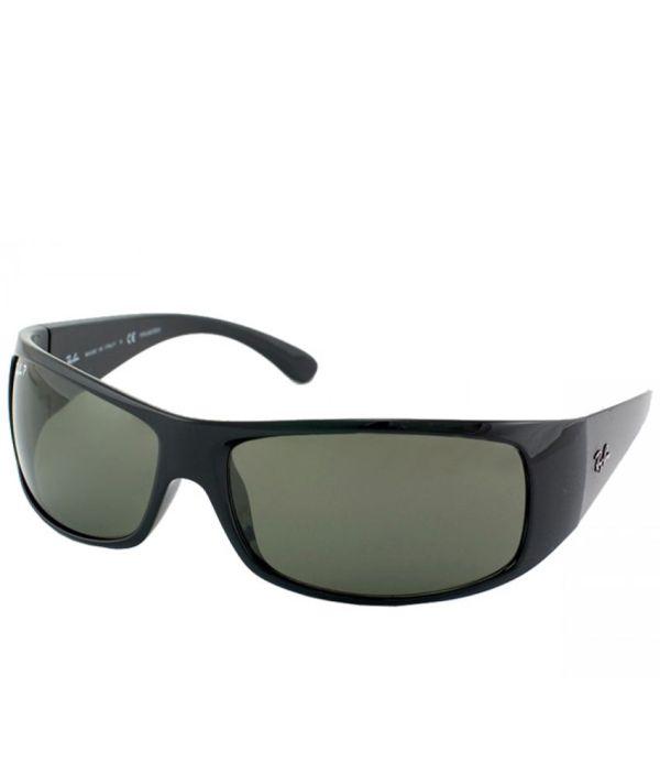 Ray-ban Rb4108 601 58 3p Green Wrap Sunglass