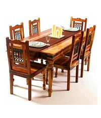 Indian Hub - Dining Table Set With 6 Chair - Buy Indian ...