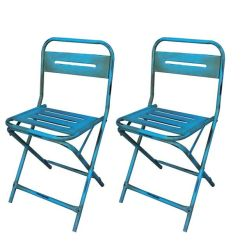 Iron Chair Price Old Folding Rocking Industrial Blue Buy 1 Get Free Exchange Discount Summary