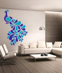 Dream On Walls Decal - Colorful Peacock Wall Stickers ...