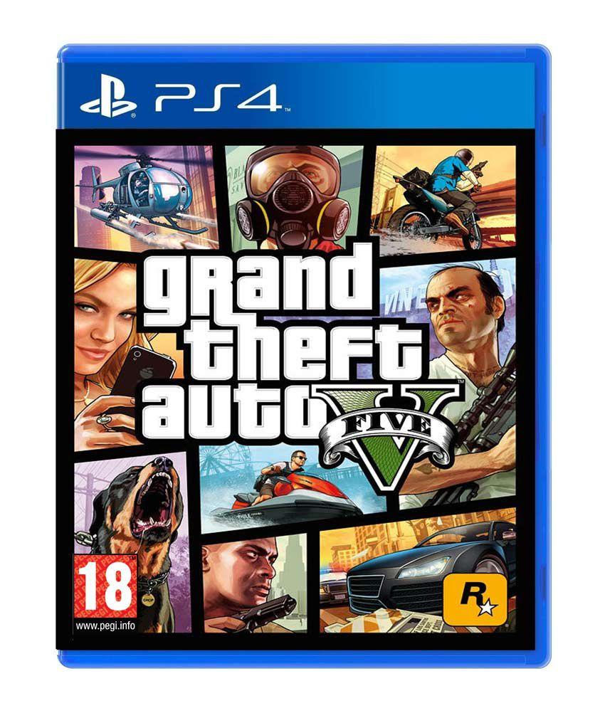 GTA 5 PS4 GRAND THEFT AUTO V EU PLAYSTATION 4 IN OFFERTA | eBay