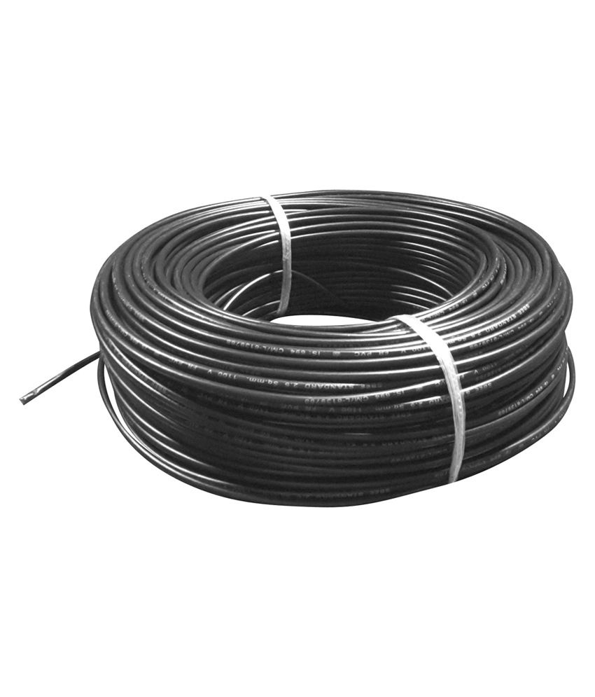 medium resolution of buy sbee cables black fr pvc insulated copper wire online at low price in india snapdeal