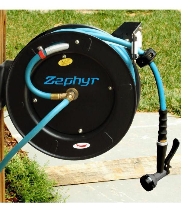 Zephyr Ultra-performance Rubber Garden Hose - 1 2 X 50' 15m With 10 Year Warranty