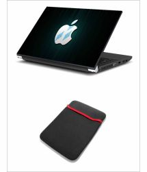 Print Shapes Rarity Apple Laptop Skin With Sleeve