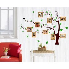 Wall Stickers Living Room Sectional Stickerskart Family Photo Tree 803 60x90 Cms Buy