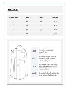 Shirt sizes chart india also anlis rh