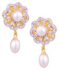 Hyderabad Jewels Golden Drop Earrings: Buy Hyderabad ...
