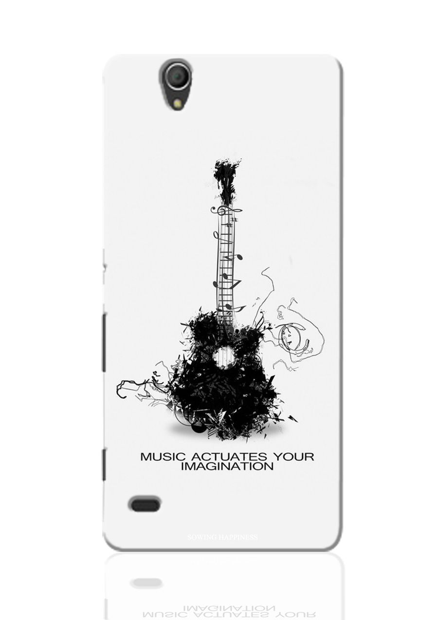 Sony Xperia C3 Dual Printed Back Cover by Sowing Happiness