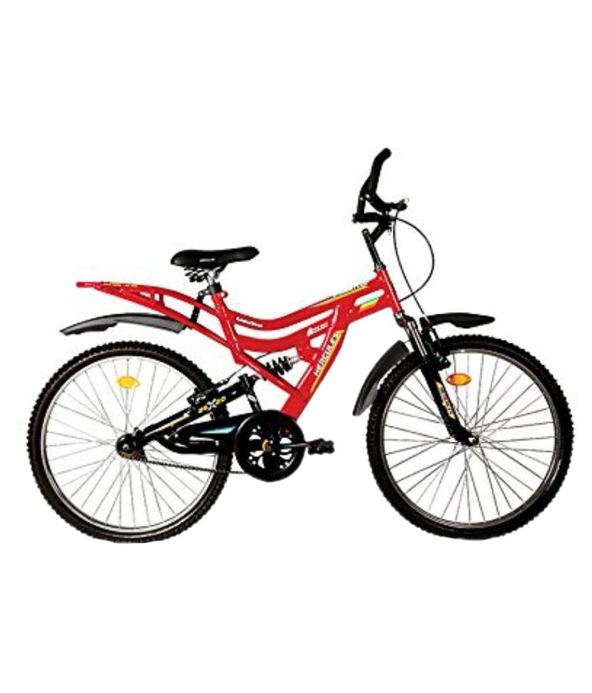 Hercules Red Non Gear Bicycle: Buy Online at Best Price on