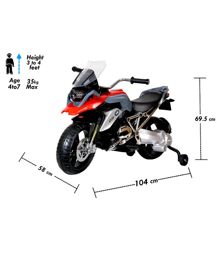 Toyhouse Officially Licensed BMW R1200GS Motorcycle