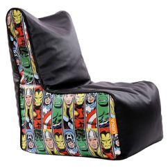 Avengers Bean Bag Chair Desk Locking Wheels Orka Marvel Cover Multi Colour Buy