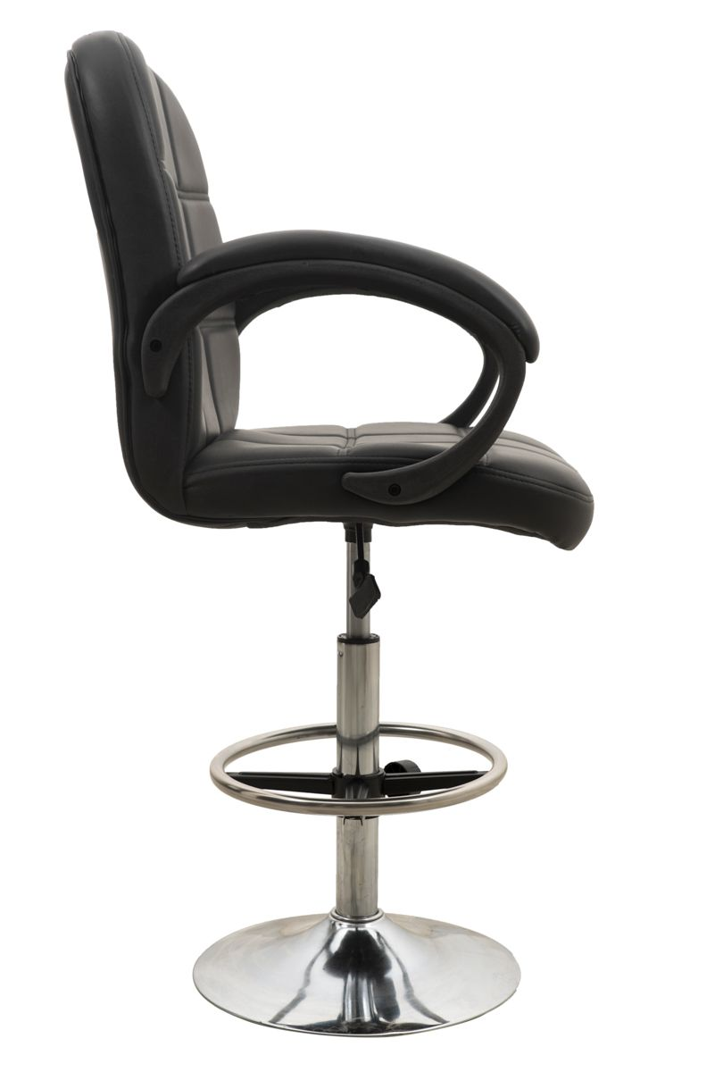 revolving chair for kitchen barber waiting chairs in black buy