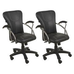 Revolving Chair Used Dark Brown Wood Dining Chairs Hubiz Buy 1 Get Free