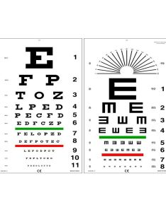 Edulab kindergarten eye chart with color symbols buy online at best price in india snapdeal also rh