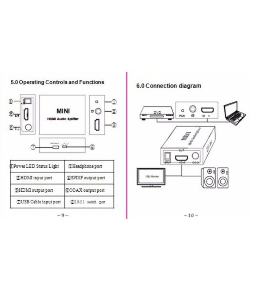 medium resolution of high quality hdmi to hdmi optical spdif suppport 5 1 audio video hdmi spdif diagram