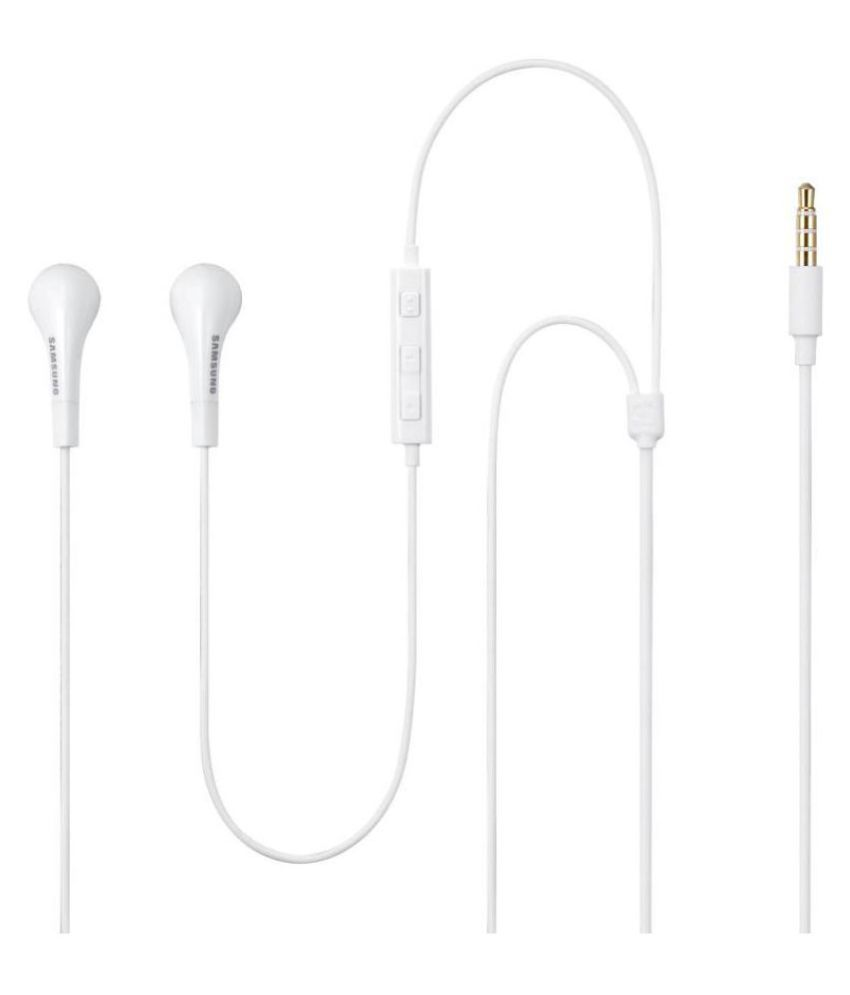 Samsung Karbonn A40/S In Ear Wired Earphones With Mic