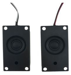 wowobjects 2pcs audio speakers 4070 led tv speaker 8ohm 3w square pase mini portable audio speakers [ 850 x 995 Pixel ]