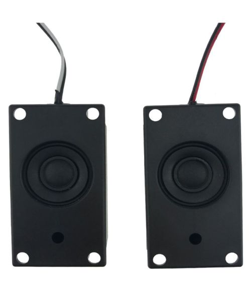 small resolution of wowobjects 2pcs audio speakers 4070 led tv speaker 8ohm 3w square pase mini portable audio speakers