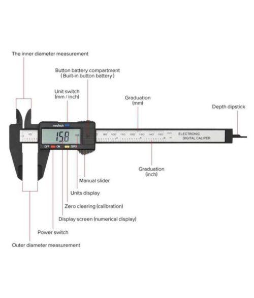 small resolution of electronic gauge ruler digital digital caliper electronic gauge ruler digital digital caliper