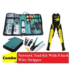techtest network tool kit with automatic 8 inch wire stripper cutter cable stripping crimper tester  [ 850 x 995 Pixel ]