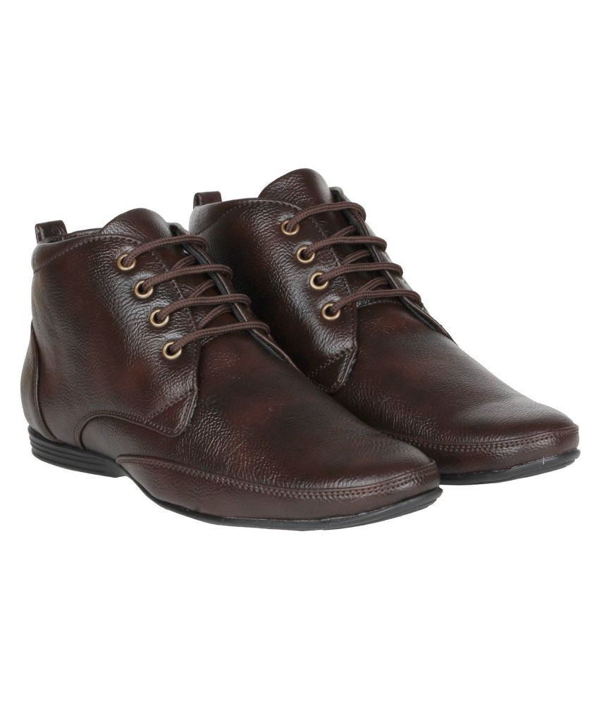FANGIRL Office Genuine Leather Brown Formal Shoes  Buy