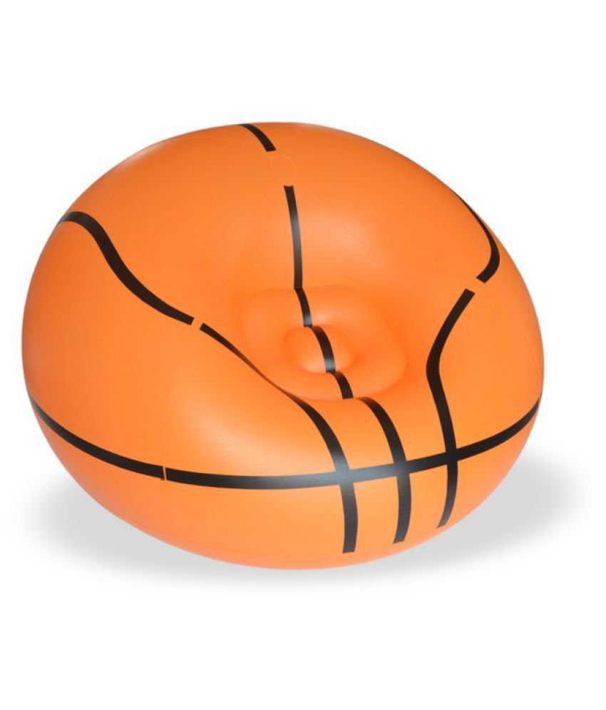 Basketball Bean Bag Chair Inflatable Chair Sofa Bean Bags Ball Football Portable Living Room