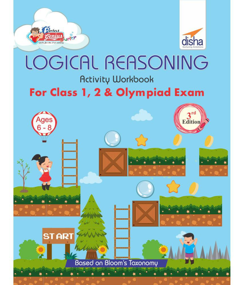 hight resolution of Perfect Genius Logical Reasoning Activity Workbook for Class 1