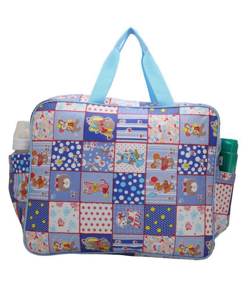 Indi Bargain Blue PU Diaper Bag ( 38 cm: Buy Indi Bargain ...