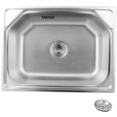 24 Kitchen Sink Ventilation System Buy Tavish Matte Finish 304 Stainless Steel X 18 9 Inch Online At Low Price In India Snapdeal