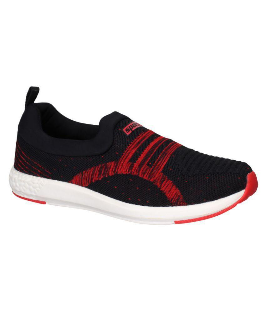 Sparx Men SM-376 Black Running Shoes