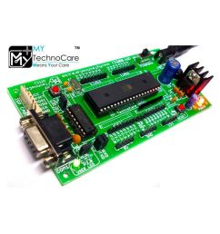 8051 microcontroller development board project evaluation kit max232 atmel at89s52 ic support at89s51  [ 850 x 995 Pixel ]