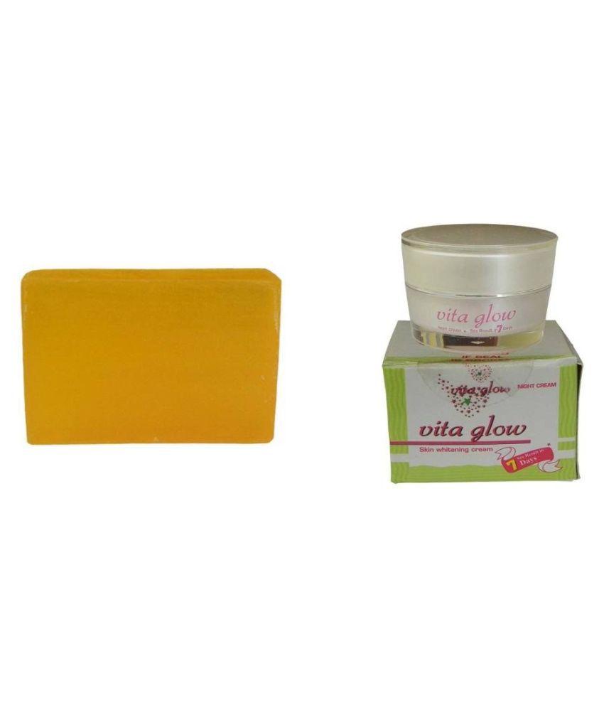 Vita Glow Skin Brightening Cream SPOT REMOVAL & SKIN FAIRNESS Night Cream 170 gm: Buy Vita Glow Skin Brightening Cream SPOT REMOVAL & SKIN ...