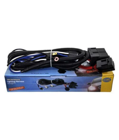 small resolution of  hella headlamp wiring harness 100 130w max with relay for high performance