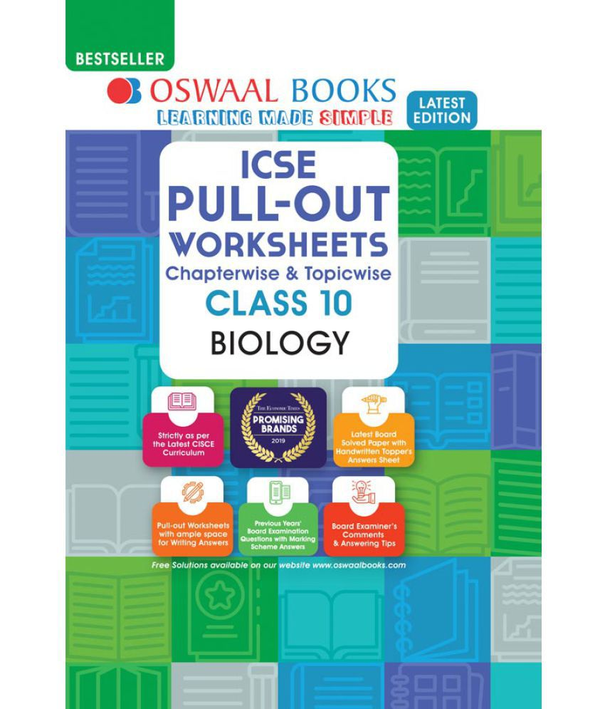 hight resolution of Oswaal ICSE Pullout Worksheets Chapterwise \u0026 Topicwise