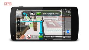 TomTom navigation with real-time traffic information now FREE