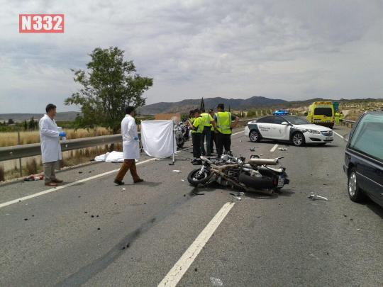 20150529 - Guardia Civil Officer Killed in Crash  (1)