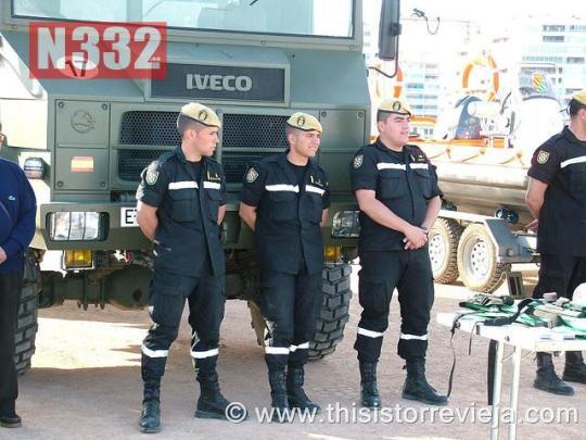 20150708 - Military Honoured in La Mata on Friday (1)