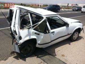 Five-Vehicle Smash in Torrevieja