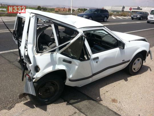 20150805 - Five Vehicle Smash in Torrevieja (2)