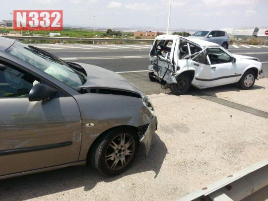 20150805 - Five Vehicle Smash in Torrevieja (3)