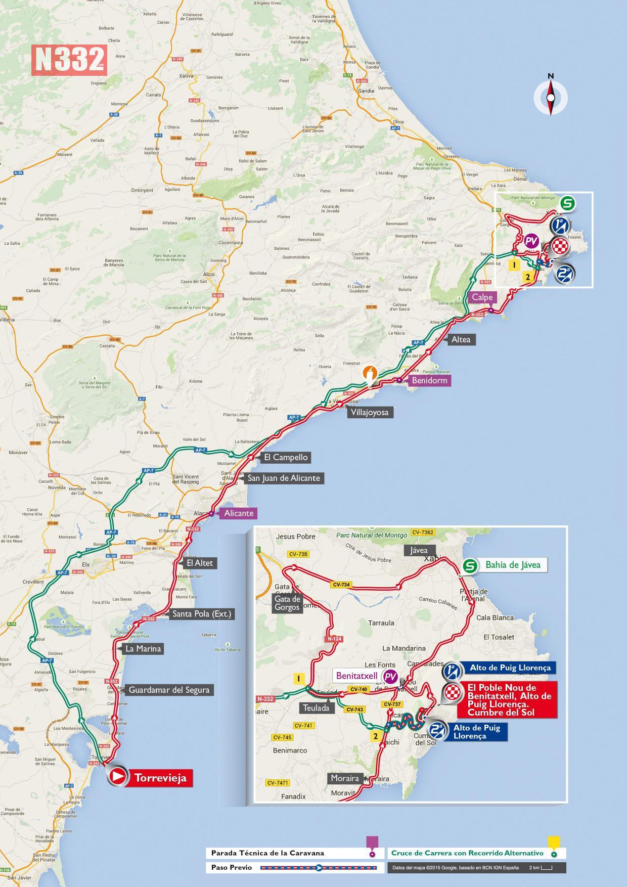 The Cycle Tour Of Spain Is Coming To Torrevieja N332 Es Driving