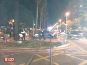 Two Injured in Alicante Tram Collision