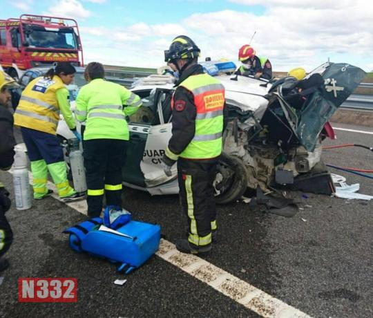 Officers Injured in Serious Crash