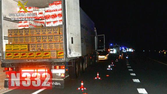 Officers Stop Drugged-Up Trucker After 70km Chase 1