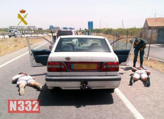 Roadside Robbers Arrested on A7 Motorway