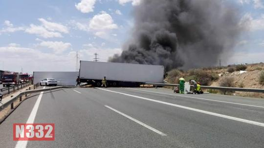 Three Killed in Murcia Motorway Crash 1
