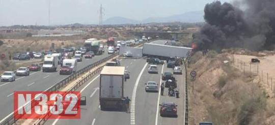 Three Killed in Murcia Motorway Crash 2