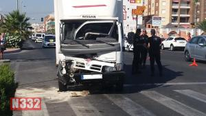 Drunk Driver Crashes into Truck